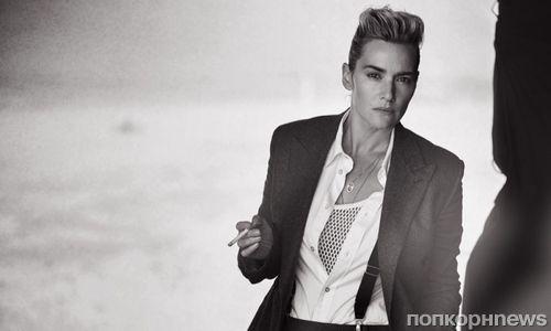 Кейт Уинслет примерила мужские образы для L'Uomo Vogue