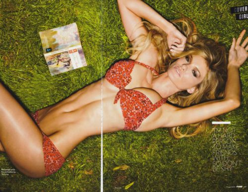 Мариса Миллер в журнале FHM