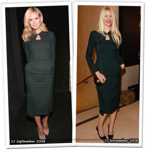 Fashion battle: Хайди Клум и Клаудия Шиффер