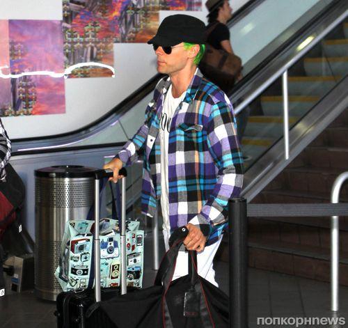 Полиция  задержала Джареда Лето в аэропорту Лос-Анджелеса