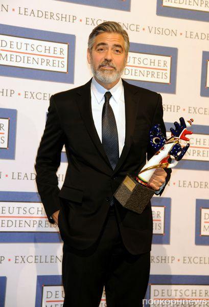 Джордж Клуни получил премию масс-медиа Германии