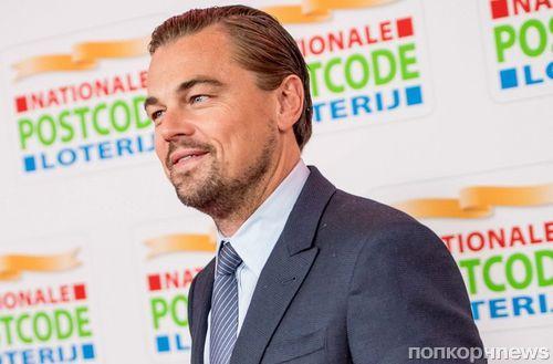 Фото: Леонардо ДиКаприо на благотворительном приеме в Амстердаме
