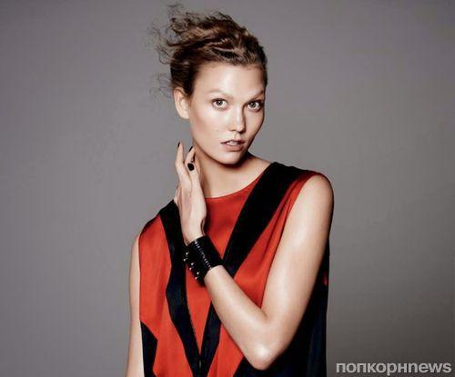 Карли Клосс в журнале Vogue. Июль 2014