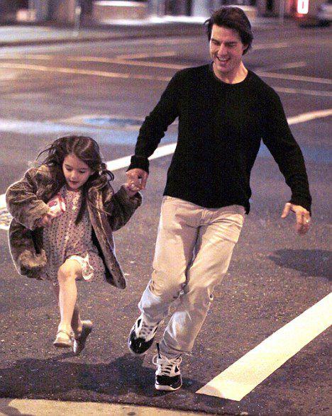Том Круз с любимой дочкой в Ванкувере