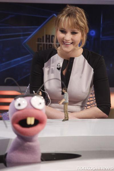 Дженнифер Лоуренс на тв-шоу в Мадриде