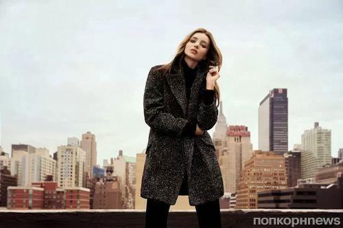 Миранда Керр в рекламной кампании Mango. Зима 2013-2014