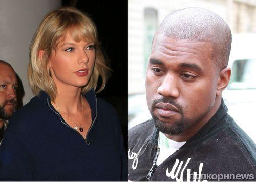 Ким Кардашьян опубликовала телефонный звонок, в котором Канье Уэст и Тейлор Свифт обсуждают песню Famous