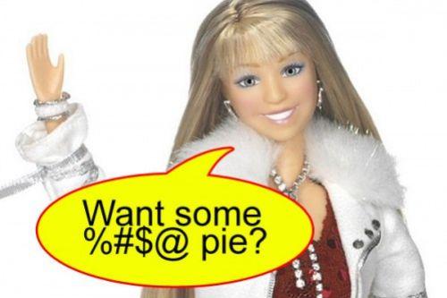 Кукла Майли Сайрус ругается матом?