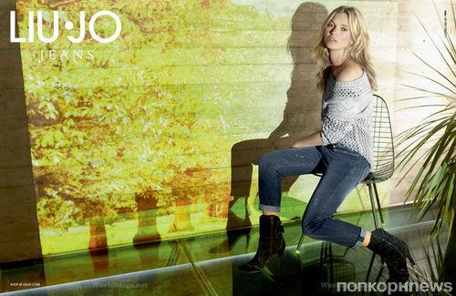 Первый взгляд на Кейт Мосс в рекламной кампании Liu Jo. Осень / зима 2013-2014