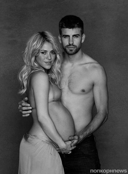 Первое фото сына Шакиры и Жерара Пике