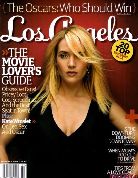 Кейт Уинслет и Джиннифер Гудвин в журнале Los Angeles. Февраль 2009