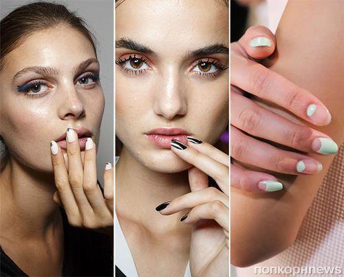 Модный маникюр на короткие ногти весна-лето 2015: фото идей дизайна