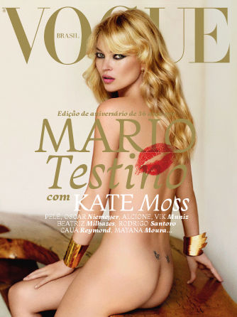 Кейт Мосс в журнале Vogue. Бразилия. Май 2011