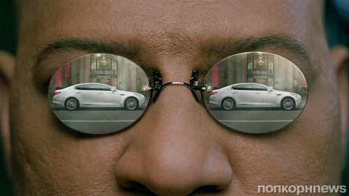 Лоренс Фишберн в рекламе Kia