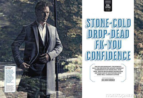 Бенедикт Камбербэтч в журнале Esquire. Ноябрь 2013
