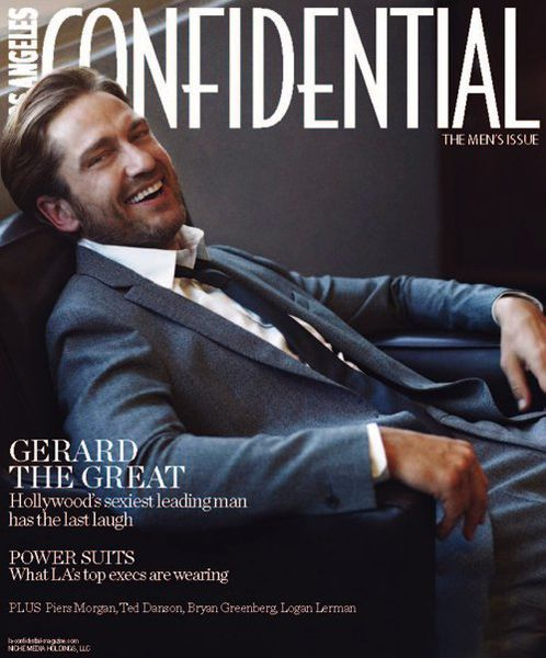 Джерард Батлер в журнале Confidential. Октябрь 2011