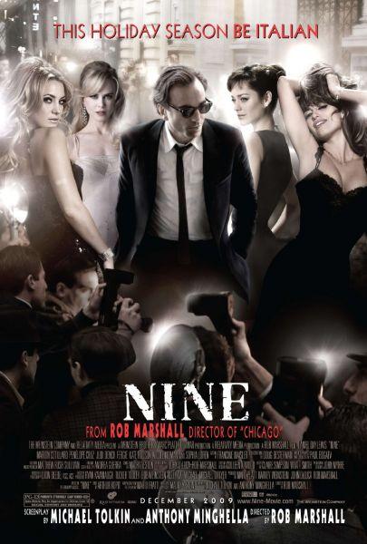 Постеры фильма «Девять»