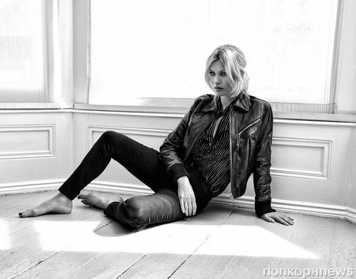 Кейт Мосс в фотосессии для The Edit, июль 2016