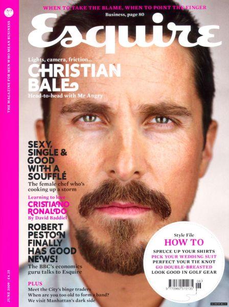 Кристиан Бэйл в журнале Esquire UK. Июнь 2009