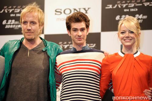 """Пресс-конференция фильма """"Новый Человек-паук"""" в Токио"""