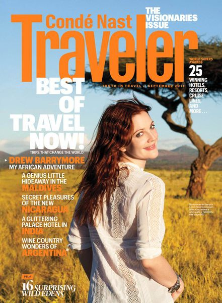 Дрю Бэрримор и Хейден Панеттьер в журнале Condé Nast Traveler