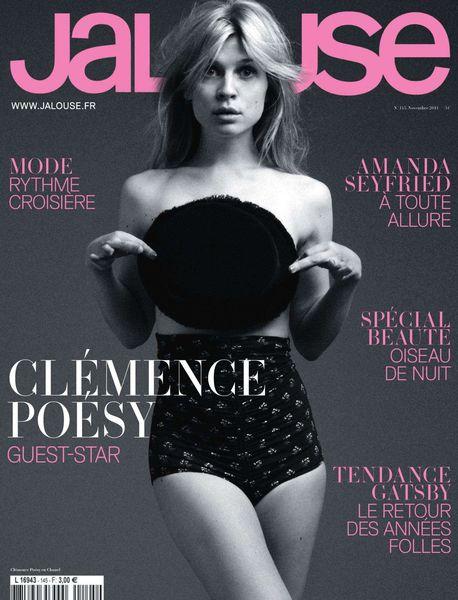 Актриса Клеманс Поэзи в журнале Jalouse. Ноябрь 2011