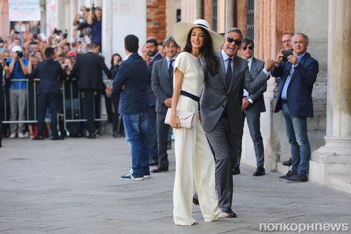 Какой свадебный подарок сделала Амаль Аламуддин Джорджу Клуни?