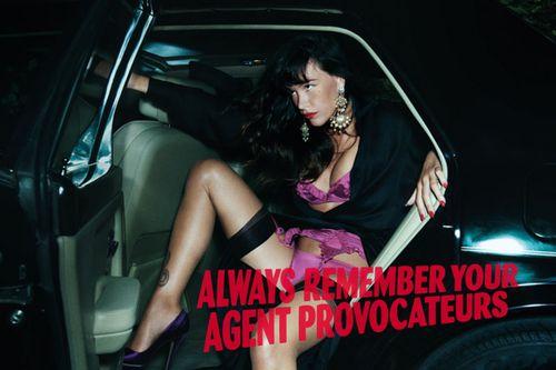 Новая рекламная кампании бренда нижнего белья Agent Provocateur