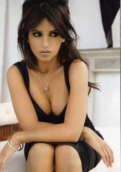 Моника Крус в журнале Elle Испания. Октябрь 2009