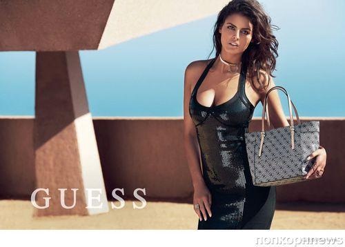 Рекламная кампания новой коллекции акссесуаров Guess