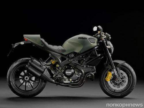 Ducati и Diesel создали мотоцикл Monster Diesel