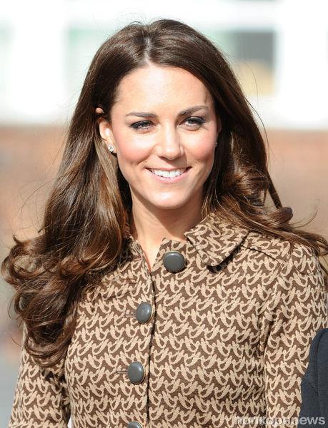 Кейт Миддлтон побывала в Оксфорде