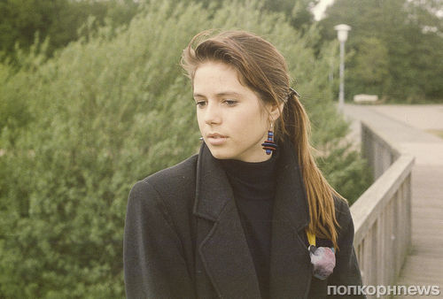 13-летняя Хайди Клум в роли киборга