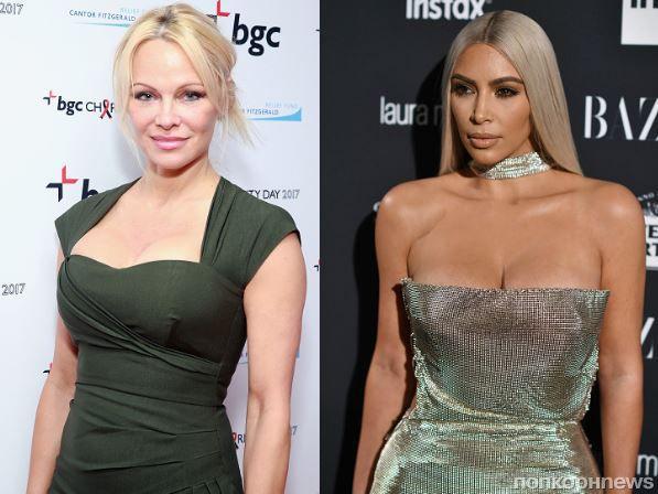 Памела Андерсон призвала Ким Кардашьян отказаться от натурального меха