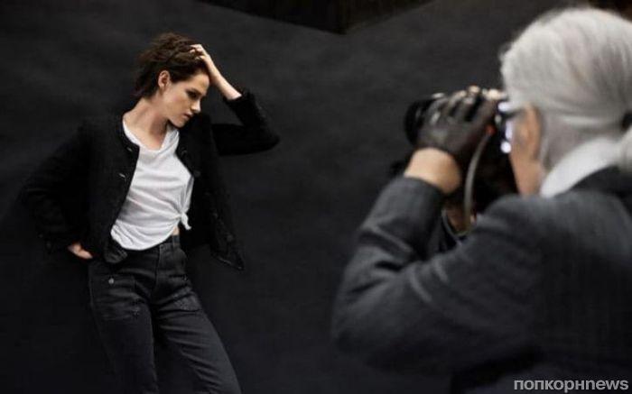 Кристен Стюарт станцевала в рекламе Chanel (видео)