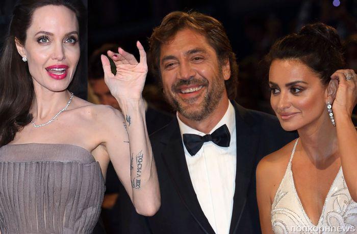 СМИ: Пенелопа Крус приревновала Хавьера Бардема к Анджелине Джоли