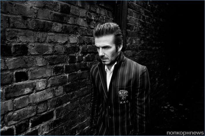 Фото: Дэвид Бекхэм снялся в рекламной кампании модного бренда Kent & Curwen