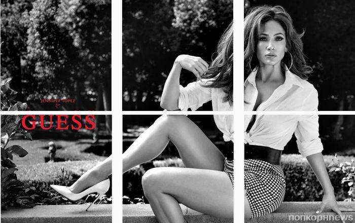 Первый кадр: Дженнифер Лопес в новой рекламной кампании Guess