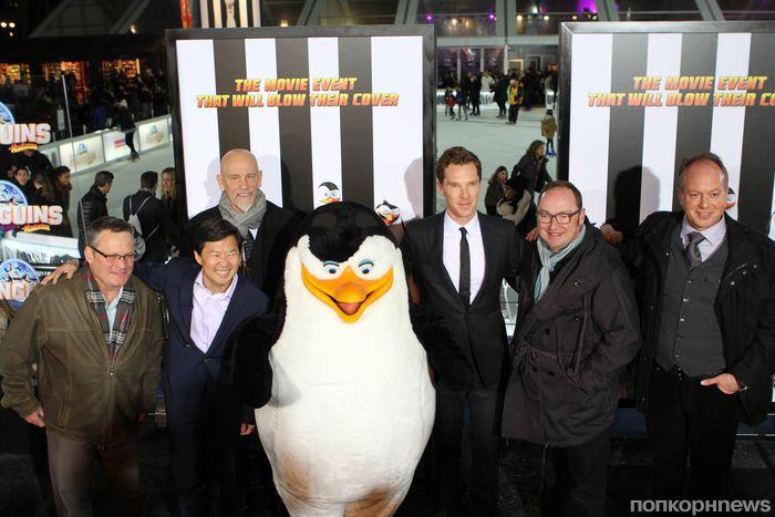 Премьера мультипликационного фильма «Пингвины Мадагаскара» в Нью-Йорке