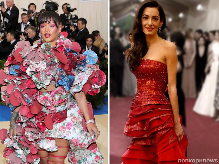 Рианна и Амаль Клуни примут участие в организации Met Gala 2018