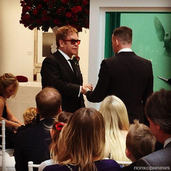 John david wedding