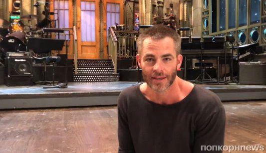 Видео: Крис Пайн демонстрирует танцевальные таланты в промо шоу SNL