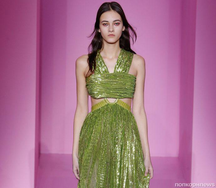 Модный показ новой коллекции Givenchy Couture. Весна / лето 2016