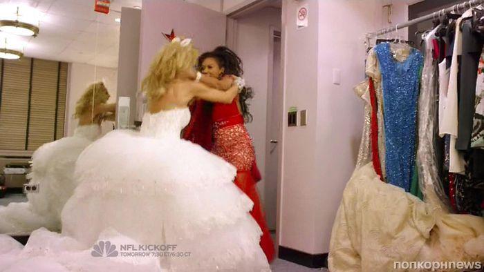 Видео: Хайди Клум и Мелани Браун подрались из-за наряда