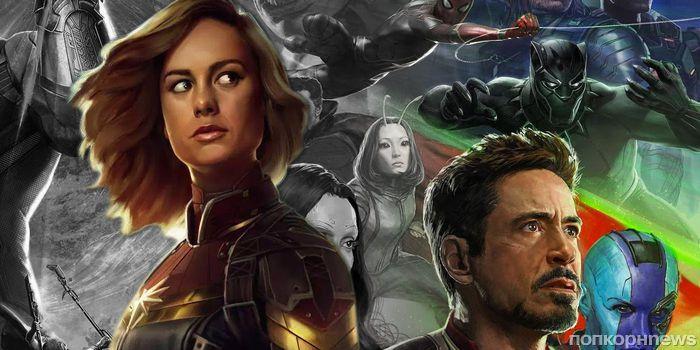 Бри Ларсон появится в роли Капитана Марвел только в «Мстителях 4»