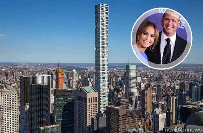 На годовщину Алекс Родригес приобрел для Дженнифер Лопес апартаменты в небоскребе рекордной высоты (фото)