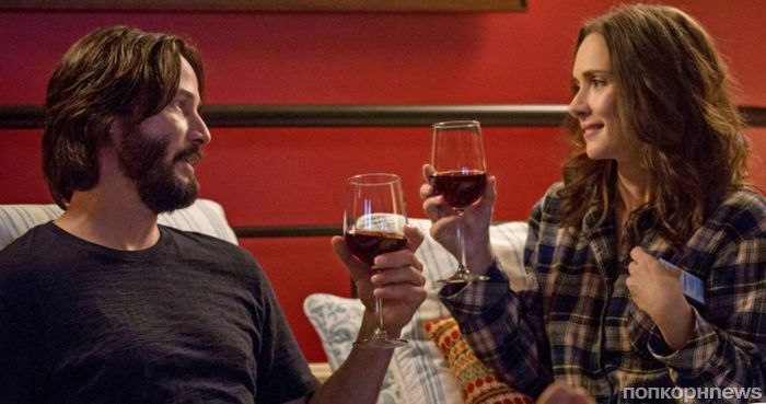 Вайнона Райдер и Киану Ривз в первом трейлере комедии «Пункт назначения: свадьба»