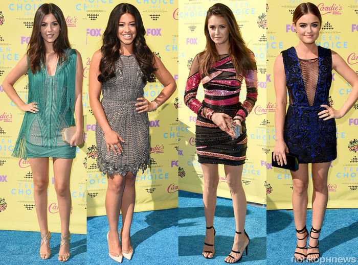 Фото: все звезды на красной дорожке церемонии Teen Choice Awards