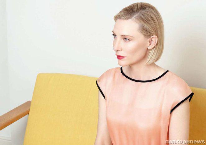 Кейт Бланшетт в фотосессии для итальянского Vogue (ноябрь 2017)