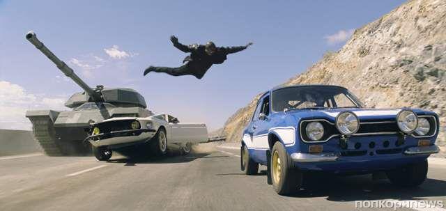 К черту физику: самые безумные экшн-сцены франшизы «Форсаж»